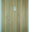 Arched Head Oak Door